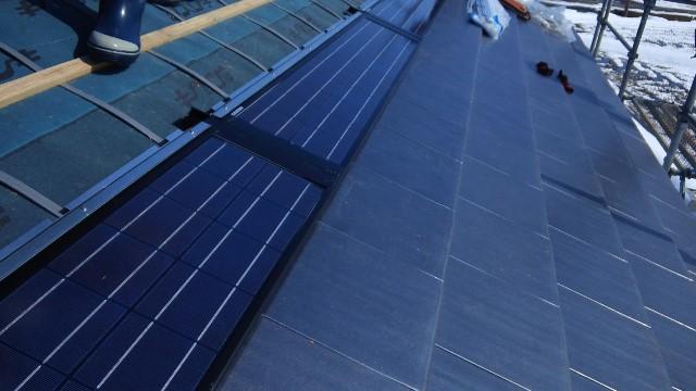 富山市H様邸 瓦一体型太陽光pic05