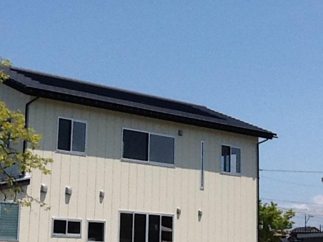 富山市H様邸 瓦一体型太陽光pic02