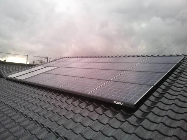 ノーリツ太陽光発電ダブルソーラーシステムpic01