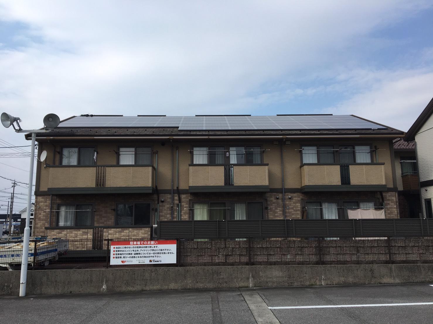 富山市T様賃貸物件太陽光発電システム設置工事pic04