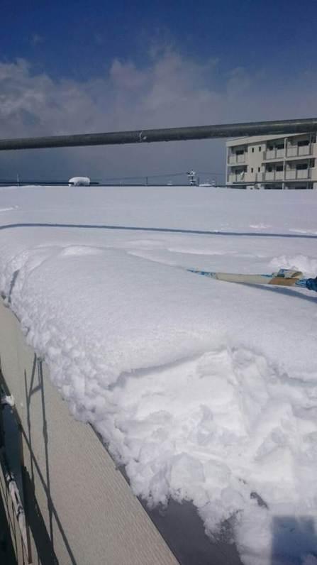 パナソニック太陽光 HIT 大雪