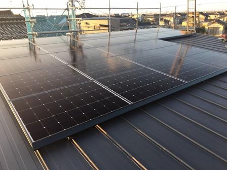 4350 シャープ太陽光 板金支持金具工法