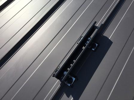 4350 シャープ太陽光 板金支持瓦工法
