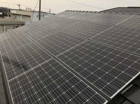 4459 長州産業太陽光 支持瓦C工法
