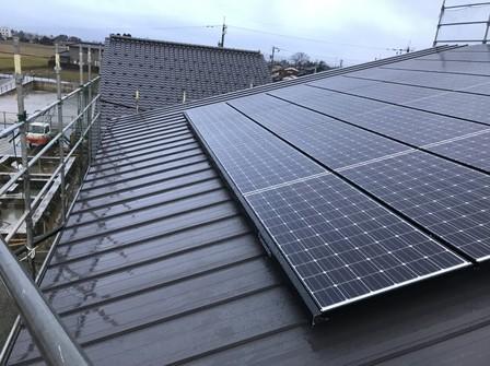 4480 パナソニック太陽光 純正支持金具工法