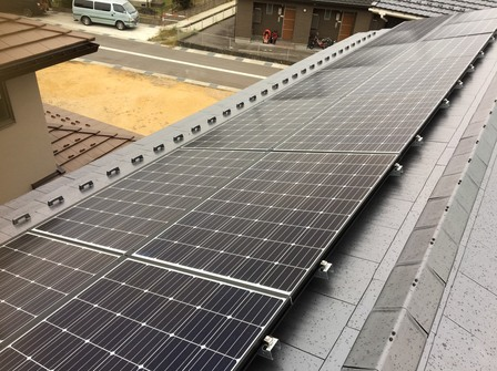 4258  長州産業太陽光 支持瓦D工法